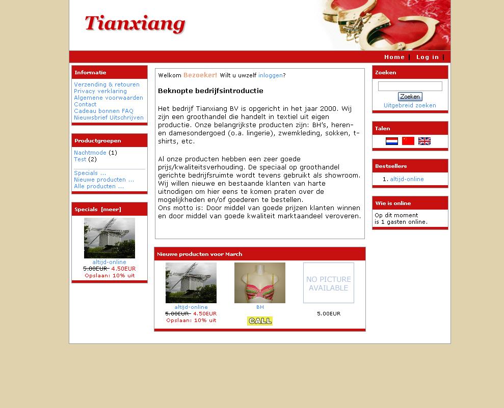 Tianxiang BV